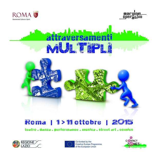 Attraversamenti multipli 1/11 ottobre 2015 a Roma