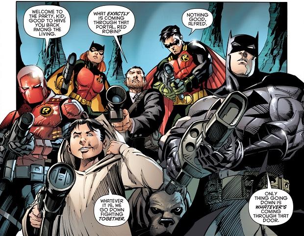 Batman il Cavaliere Oscuro 32 vignetta