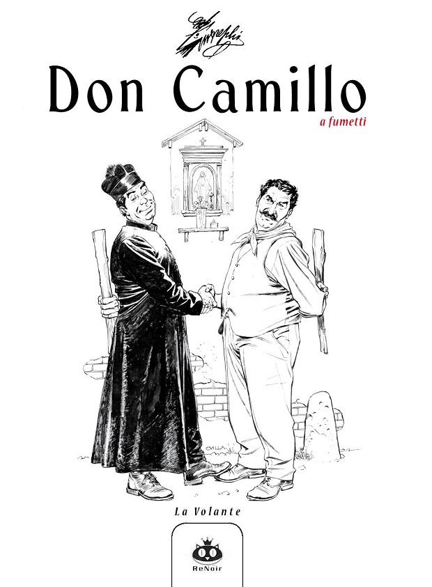 in uscita Don Camillo a fumetti volume 10