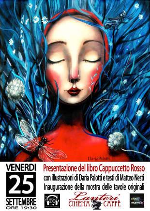 Cappuccetto Rosso illustrato da Daria Palotti