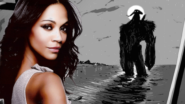 "Zoe Saldana e Madison Wolfe nel cast di ""I Kill Giants"""