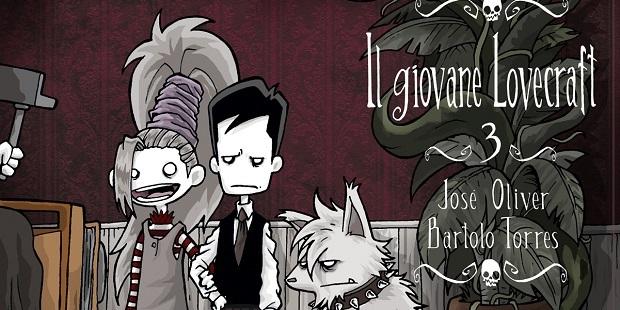 """Diábolo Edizioni presenta: """"Il giovane Lovecraft 3"""""""