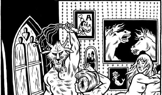 Lök Zine #6: il fumetto underground ha fame!