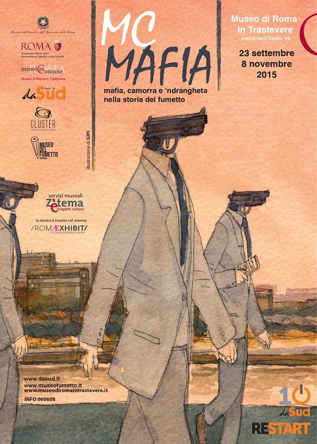 """""""Mc Mafia"""" in mostra al Museo di Roma in Trastevere"""
