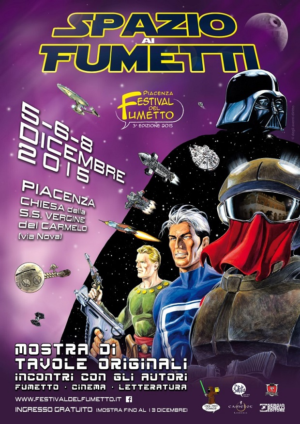 Festival del Fumetto di Piacenza - dicembre 2015