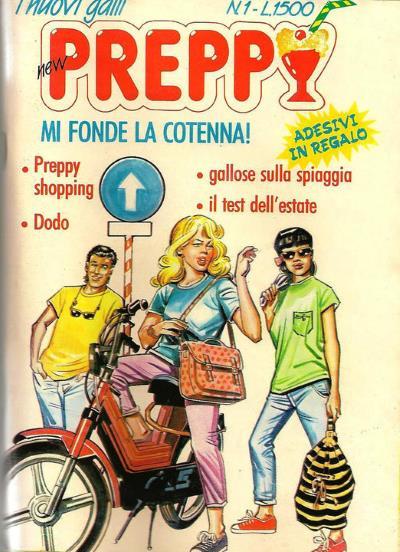 Preppy #1, la rivista per le Paninare