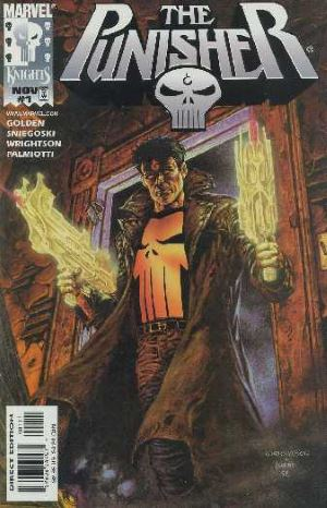 Dida: La copertina del primo numero di The Punisher: Purgatory © Marvel Comics.