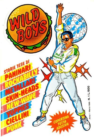 Copertina di Wild Boys #1
