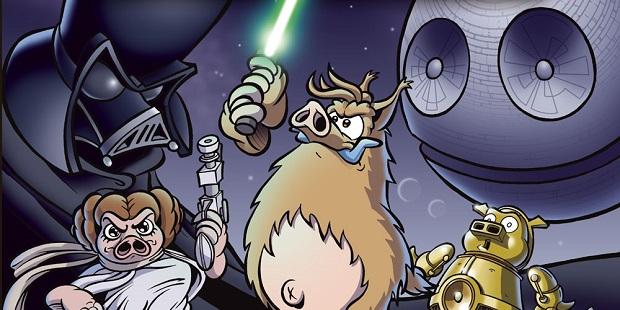 """Sta arrivando """"Star Porks e il coso venuto dallo spazio"""""""