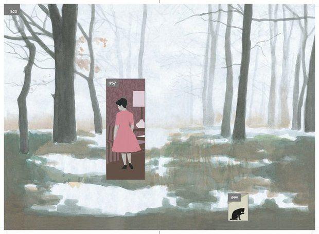 """""""Qui"""" di Richard McGuire e i paradossi del tempo"""