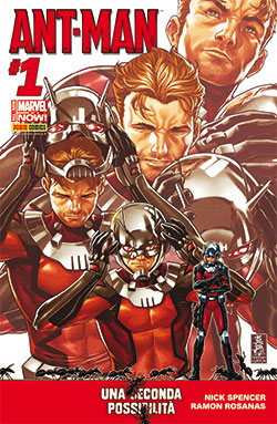 Ant-Man #1 (Spencer, Rosanas)