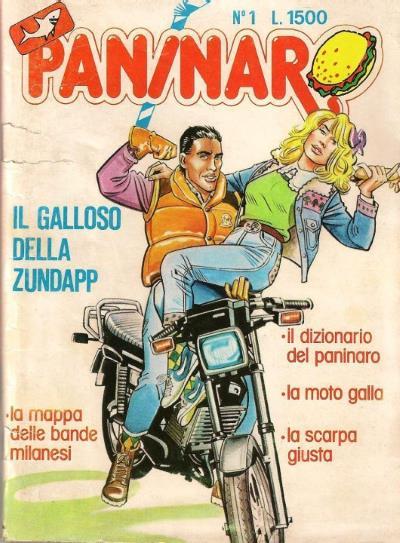 Il Paninaro, copertina del numero 1