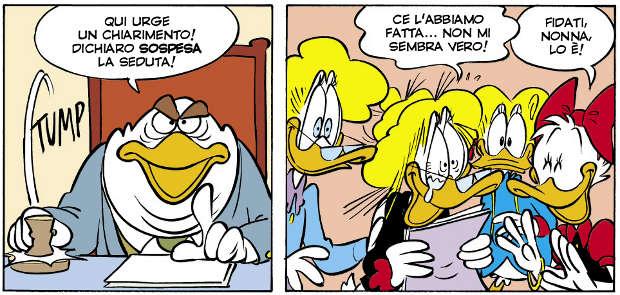 Papere alla riscossa - Topolino #3119 (Bosco, Ziche)