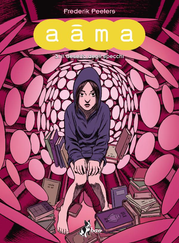 """""""Aama"""" #3 di Frederik Peeters disponibile da settembre 2015"""