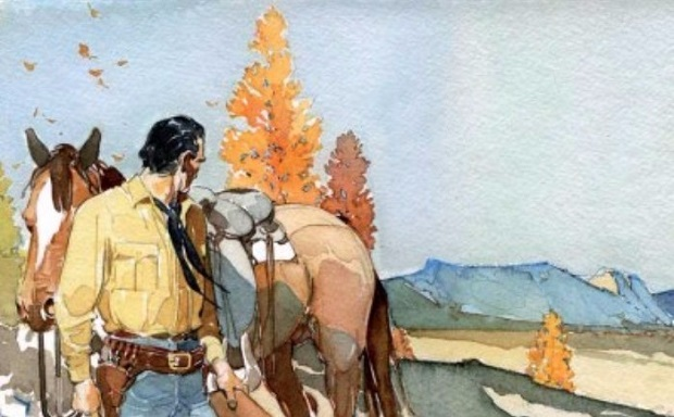 Tex Willer in mostra a Lugano