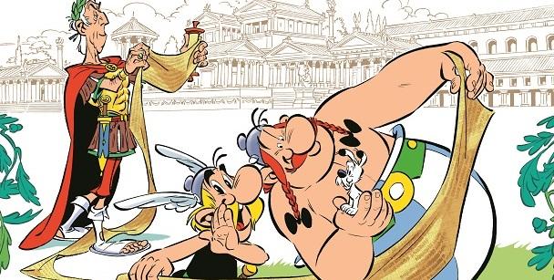 In uscita: Asterix e il Papiro di Cesare