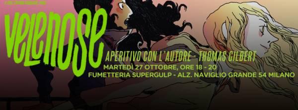 Milano - Incontro con l'autore Thomas Gilbert