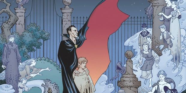 """Da NPE """"The Graveyard Book"""" di Gaiman e Russel"""