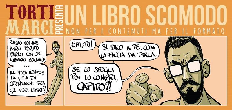 Cover Torti Marci - Un libro scomodo