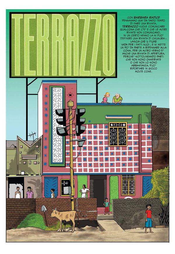 Giacon, Sottsass e l'arte di raccontare il design a fumetti