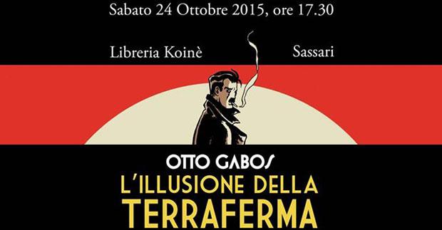 Otto Gabos a Sassari il 24 ottobre