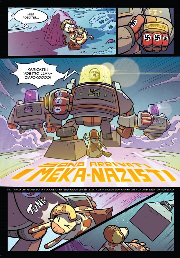 Manfont: Esso 2 e Johnny Dynamic 2 a Lucca Comics 2015_Notizie