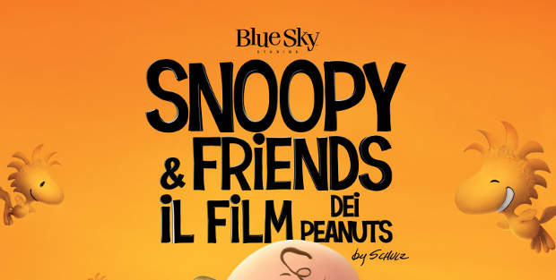 Manifesto del film SNOOPY AND FRIENDS - IL FILM DEI PEANUTS nelle sale a novembre front