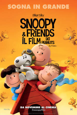 Manifesto del film SNOOPY AND FRIENDS - IL FILM DEI PEANUTS nelle sale a novembre