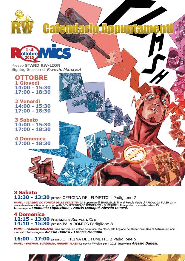 RW Lion al Romics - 2016 un anno da leoni