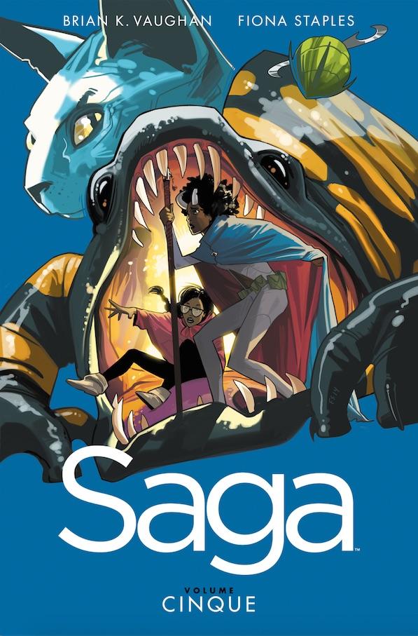In libreria il quinto volume di Saga
