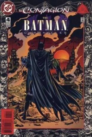 La cover del quarto numero di Batman Chronicles. © DC Comics.