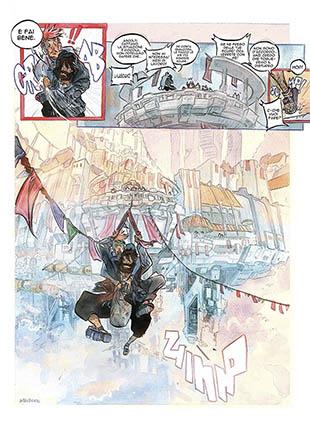 Spada: un acquerello sul futuro da Tripood