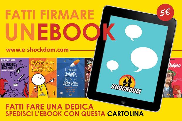 """Shockdom presenta l'iniziativa """"Fatti firmare un eBook"""""""
