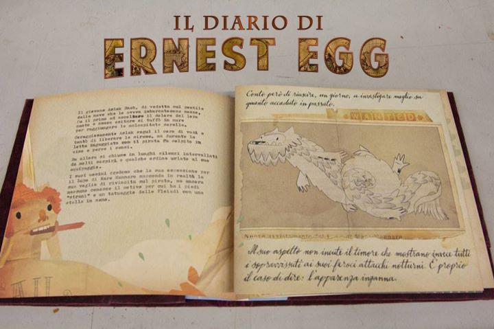 Ernest Egg: ecco il libro e il corto metraggio