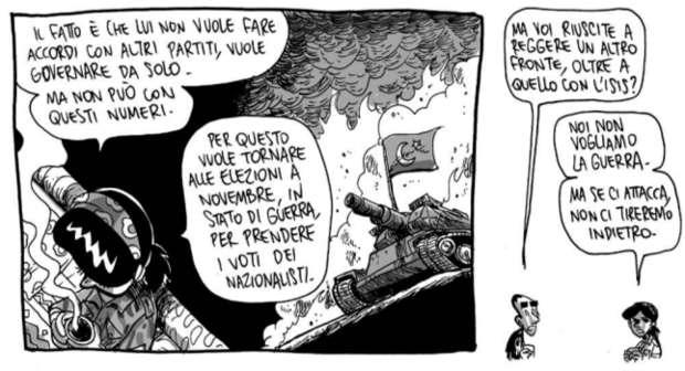 """""""Ferro & piume"""" di Zerocalcare: partigiani nel Rojava"""