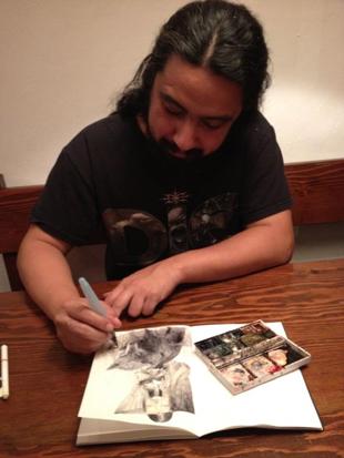Tony Sandoval: le storie, il colore, la musica