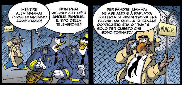 Il rampiro di Transvitania - Topolino #3127