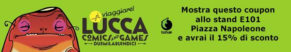 Le grandi esclusive Tunué per Lucca Comics & Games 2015