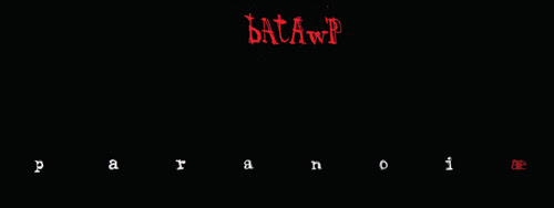 "Shockdom pubblica ""Paranoiæ"" di Giulio ""Batawp"" Rincione"