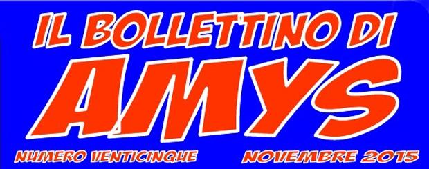 Online il numero 25 del Bollettino di AMys