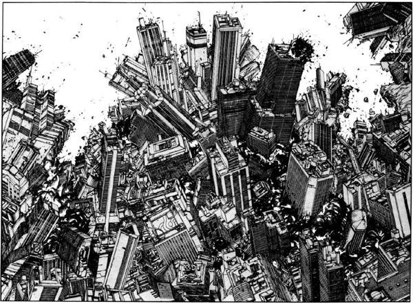 Le immagini della città: da Flash Gordon ad Akira