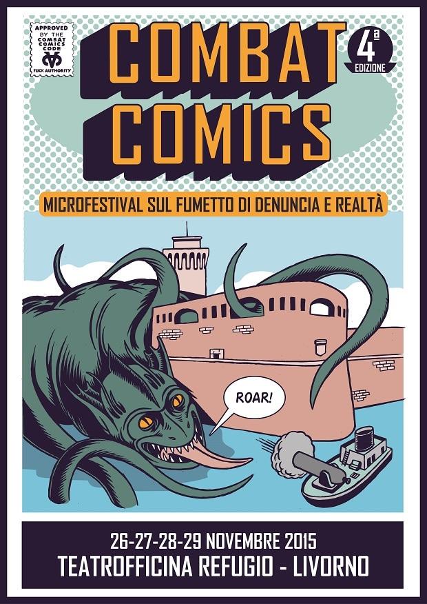 Combat Comics 2015 Locandina 620