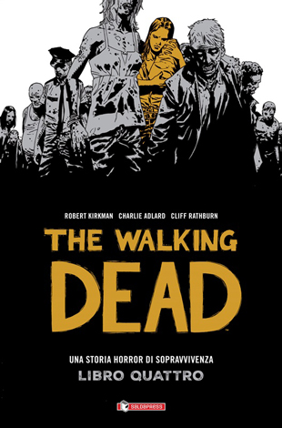 Disponibile il quarto cartonato di The Walking Dead
