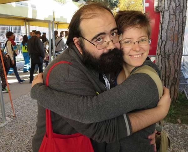 L'abbraccio di Tuono Pettinato