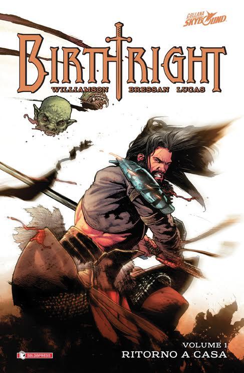 Il primo volume di Birthright disponibile dal 13/11/2015