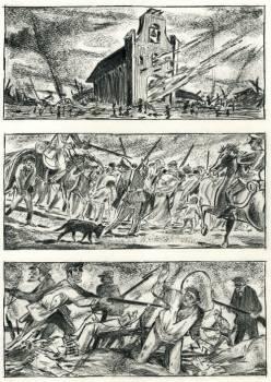 Churubusco e la storia del battaglione San Patrizio