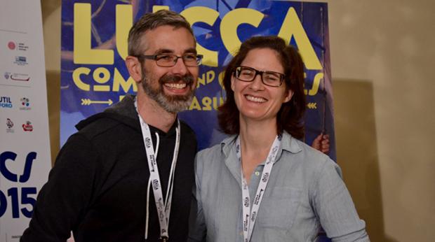 Lucca Comics 2015: Press Café con i coniugi Immonen