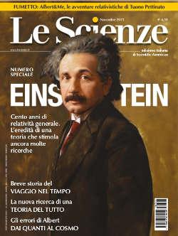 Albert & me - Le Scienze #567 (Tuono Pettinato)_BreVisioni