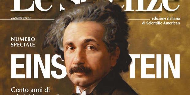 Albert & me – Le Scienze #567 (Tuono Pettinato)