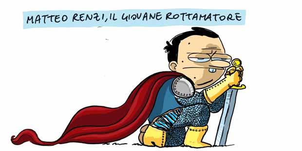 Amore e satira al tempo di Renzi: intervista a Mario Natangelo
